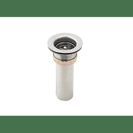 Canastilla para lavaplatos 2 pulgadas en acero inoxidable - Grival
