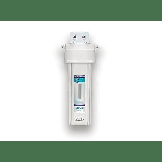 Filtro agua 1 etapa bajo mesón - Grival