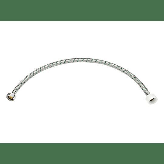Acople sanitario de 40 cm acero - Grival
