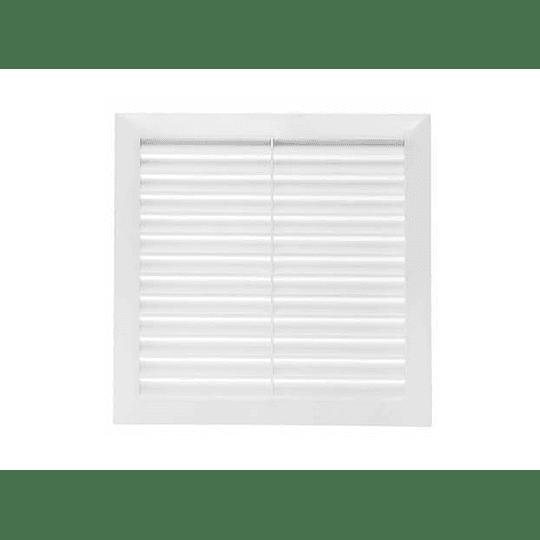 Rejilla de ventilación persiana blanca - Grival