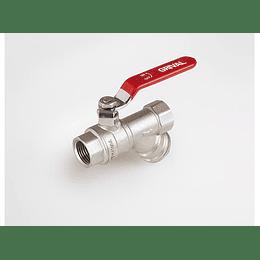 Válvula de bola + filtro - Grival