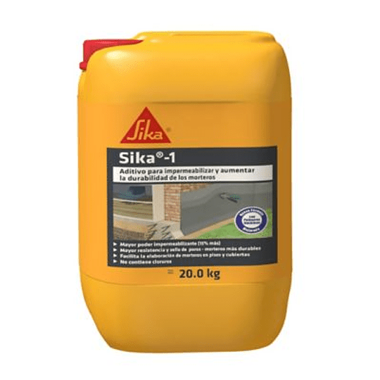 Sika®-1 de 20 kg