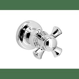 Registro ducha cromado cruceta balta - Grival