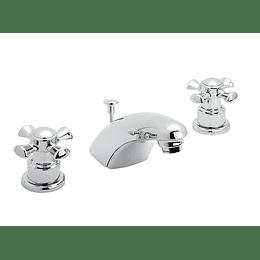 Grifería lavamanos balta cruceta 8 pulgadas - Grival