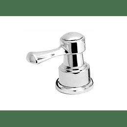 Manija balta palanca lavamanos agua caliente - Grival