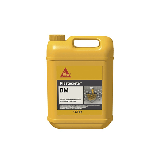 Plastocrete® DM de 4.5 kg