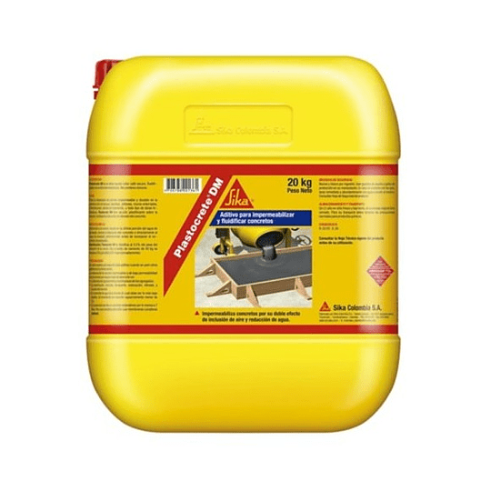 Plastocrete® DM de 20 kg