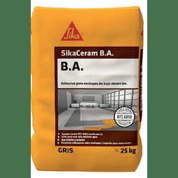 SikaCeram®230 B.A. blanco de 25 Kg