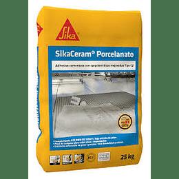 SikaCeram® porcelanato gris de 25 Kg