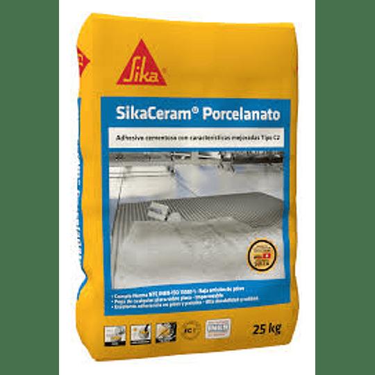 SikaCeram® porcelanato blanco de 25 Kg