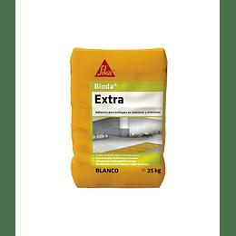 Sika® Binda® extra blanco de 25 Kg