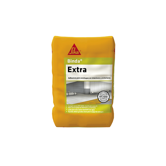 Sika® binda® extra gris de 50 Kg