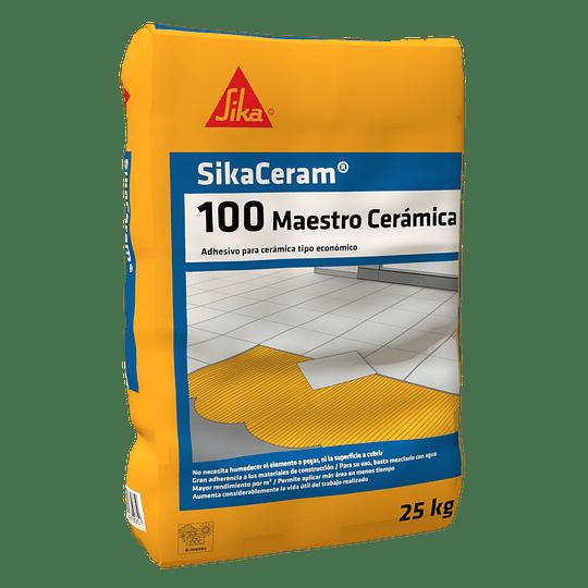 SikaCeram®100 cerámico gris de 25 Kg