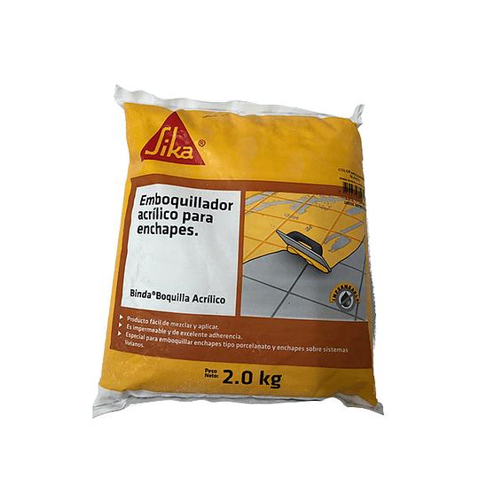 Sika® binda® boquilla acrílico beige de 2 Kg