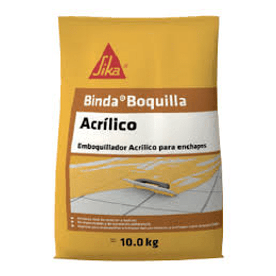 Sika® binda® boquilla acrílico blanco de 10 Kg