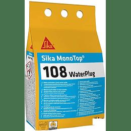 Sika® MonoTop-108 Water Plug CO Gris de 4 Kg