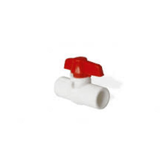 Válvula de bola compacta roscada presión 1/2