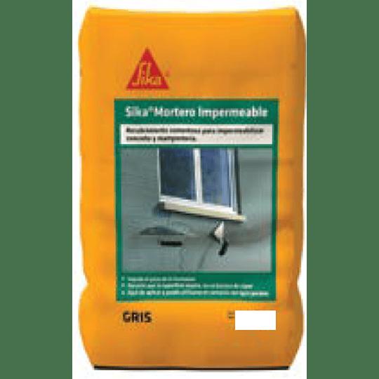 Sika® Mortero Impermeable Gris de 25 Kg