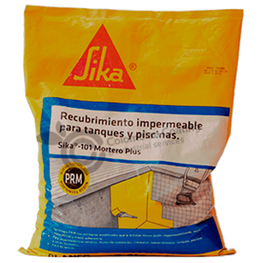 Sika®-101 Mortero Plus Blanco de 2 Kg