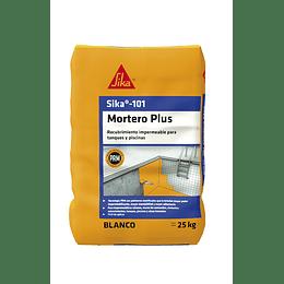 Sika®-101 Mortero Plus Blanco de 25 Kg