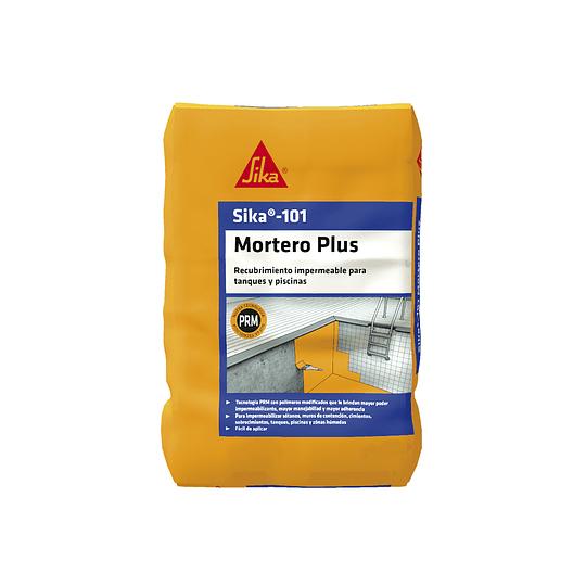 Sika®-101 Mortero Plus Gris de 10 Kg