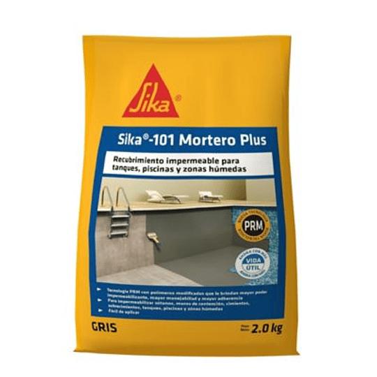 Sika®-101 Mortero Plus Gris de 2 Kg