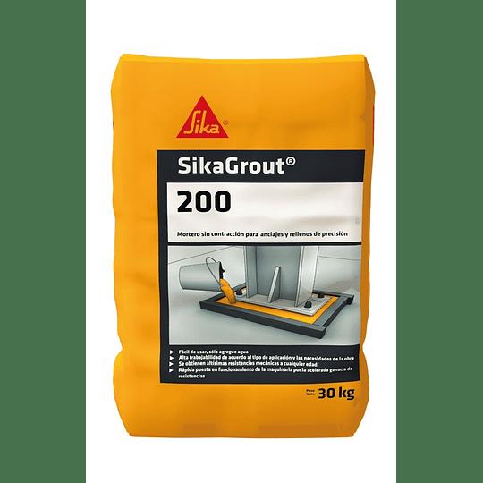 SikaGrout®-200 de 30 kg