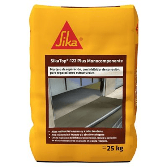SikaTop®-122 Plus Monocomponente de 25 kg