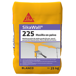 SikaWall®-225 Masilla en Polvo de 25 Kg