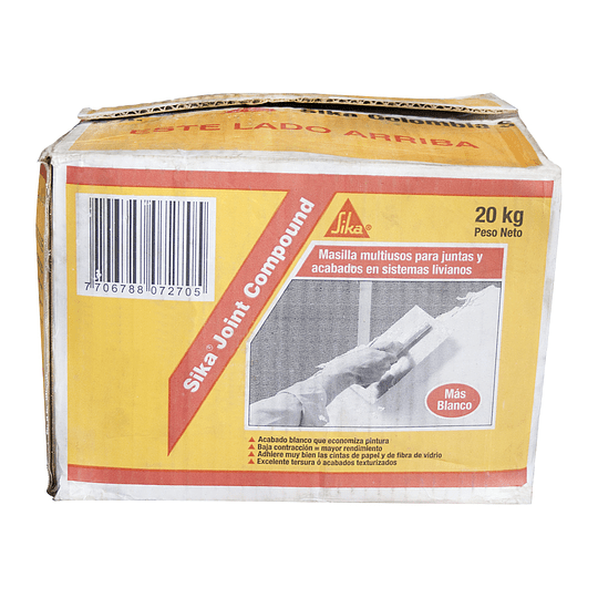 Sika® Joint Compound Caja de 20 Kg