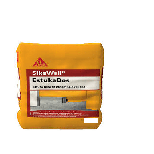 SikaWall® estukados de 40 Kg