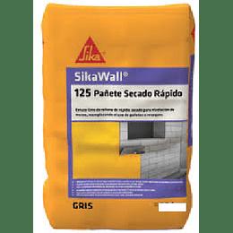 SikaWall®-125 pañete rapido secado de 25 Kg