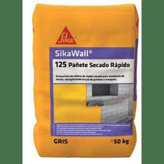 SikaWall®-125 pañete rápido secado de 50 Kg