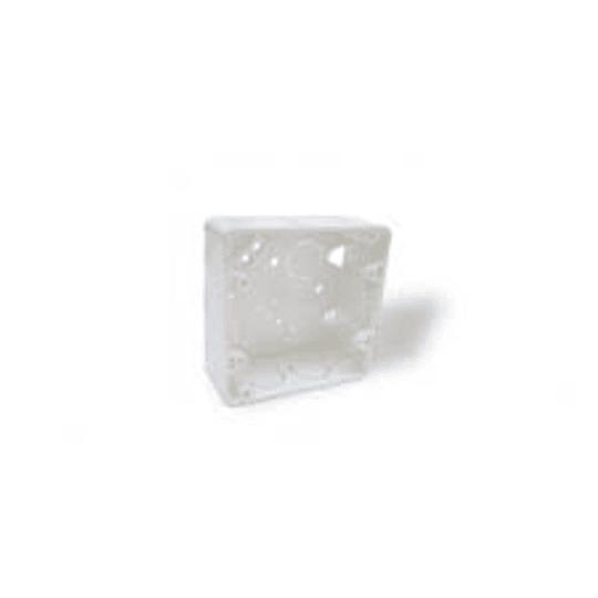 Caja eléctrica doble conduit 107x107x48 mm - Celta
