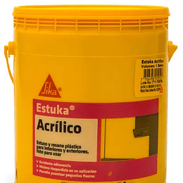 Estuka acrílico de 1.5 Kg