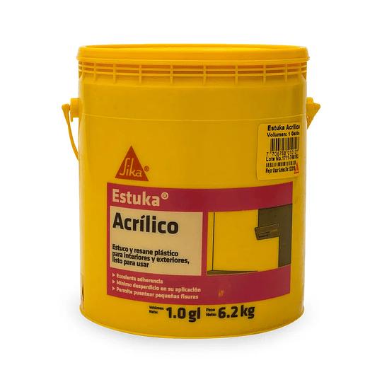 Estuka acrílico de 6.2 Kg