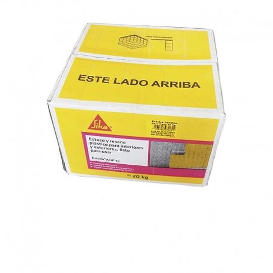 Estuka acrílico caja de 20 Kg