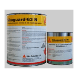Sikaguard-63 N rojo oxido de 4 kg