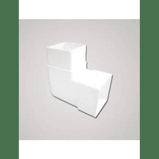 Codo bajante 90° canales - Celta