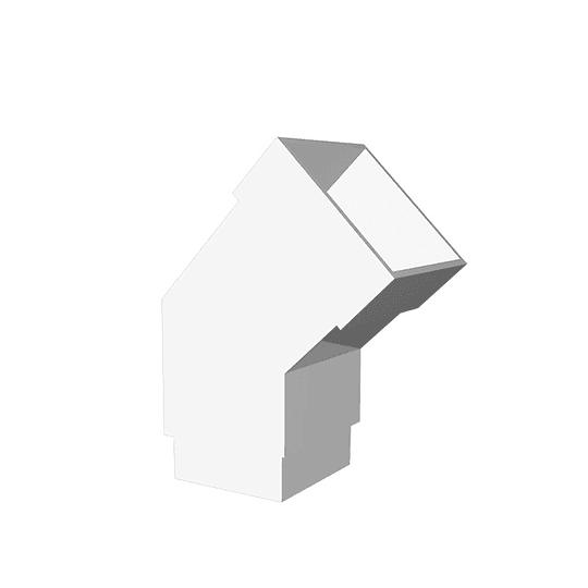 Codo bajante 45° canales - Celta