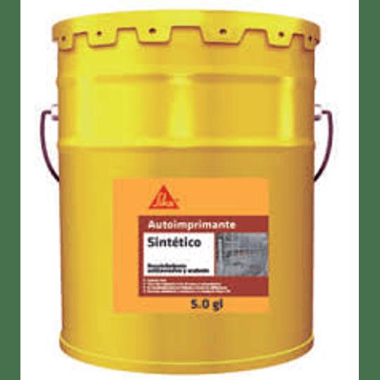 Autoimprimante sintético blanco de 5 galones