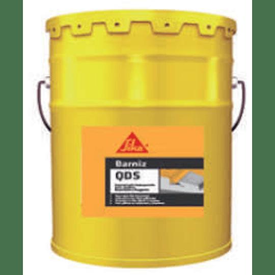 Barniz QDS gris de 5 galones