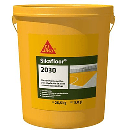 Sikafloor®-2030 rojo de 5 galones