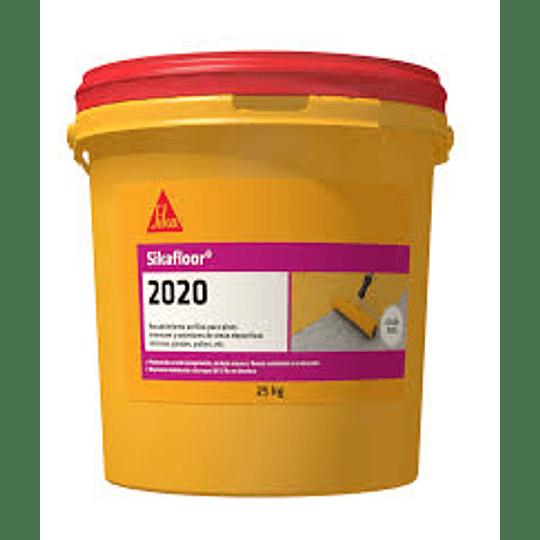 Sikafloor®-2020 verde de 5 galones