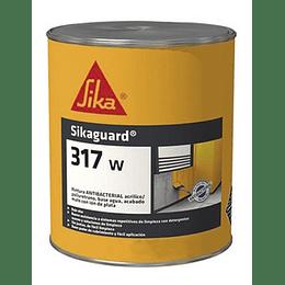 Sikaguard® 317 W blanco semimate de 1 galón