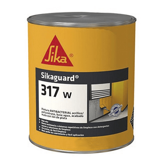 Sikaguard® 317 W blanco semimate de 5 galones