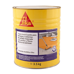 Emulsión Asfáltica Sika® de 3.5 kg