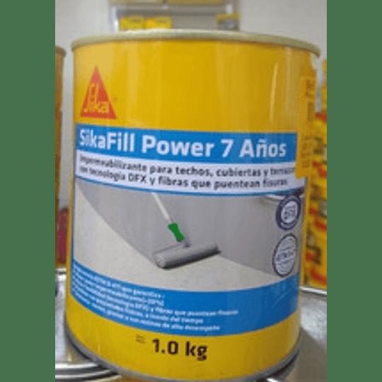 SikaFill Power 7 Años blanco de 1 kg
