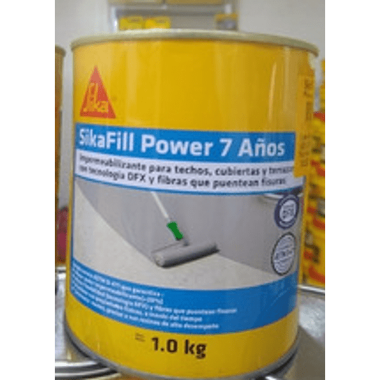 SikaFill Power 7 Años verde de 1 kg