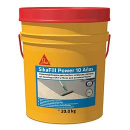 SikaFill Power 10 Años gris de 20 kg